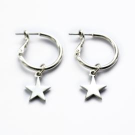Astra earrings ★ star silver