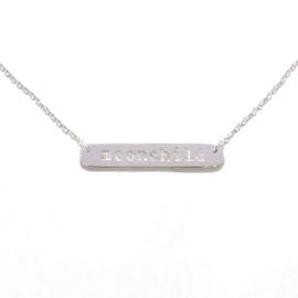 Moonchild necklace ☽ silver