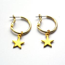 Astra earrings ★ star gold