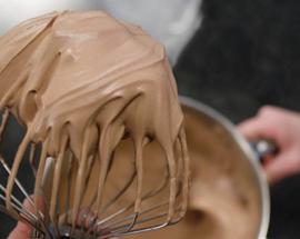 Chocolademousse (diverse smaken)