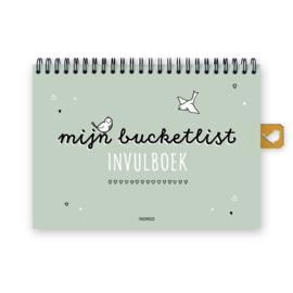 Mijn bucketlist invulboek