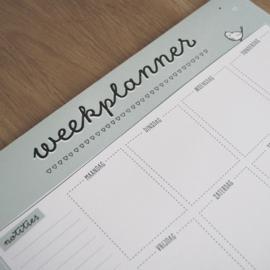 Weekplanner A4