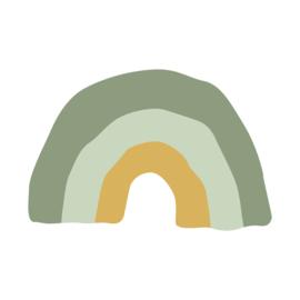 Muurstickers | regenboogjes | groen | nieuw!