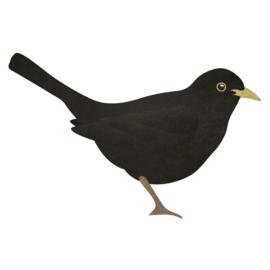 Merel | Vogel muursticker