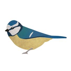 Pimpelmeesje | Vogel muursticker
