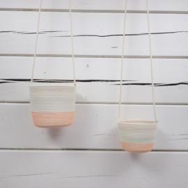 Koba hanging planter fluo orange 12-18x15 - L