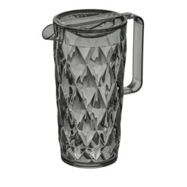 CRYSTAL Pitcher 1,6l transparant grey