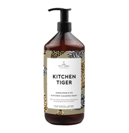 The gift label - DISH SOAP - KITCHEN TIGER 1000ml