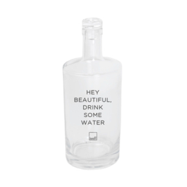 Leeff 'hey beautiful drink some water' 750ml