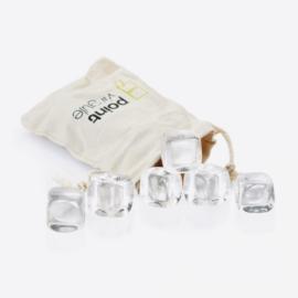 POINT VIRGULE set van 6 crystalstones met zakje