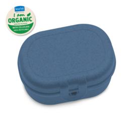 PASCAL MINI ORGANIC Lunch Box deep blue