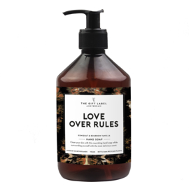 The Gift label - HAND SOAP- Love Rules - 500ml