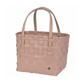 Handed By Color match shopper blush