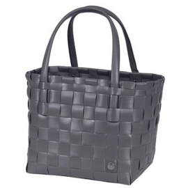 Handed By Color match shopper dark grey