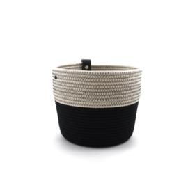 Koba planter- M- black&white 16x15