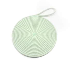 Koba coaster-mint d20