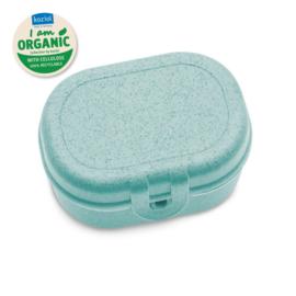 PASCAL MINI ORGANIC Lunch Box organic aqua