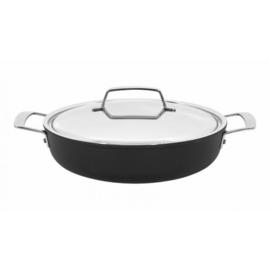 Demeyere ALU PRO 5 Lage kookpot met roestvrijstalen deksel d28cm- 2l
