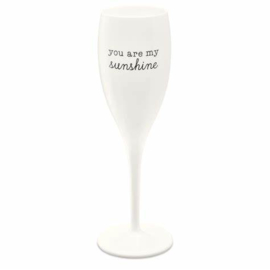 CHEERS NO. 1 YOU ARE MY SUNSHINE Superglas 100ml with print