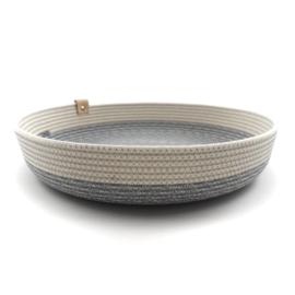 Koba bowl low- grey XL 35X7