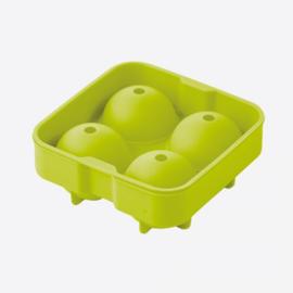 POINT VIRGULE ijsballenvorm uit silicone voor 4stuks d4.5
