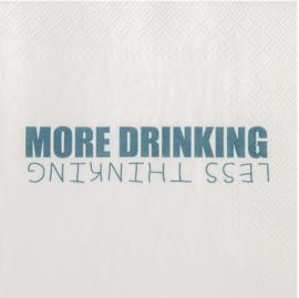 Räder servetten more drinking 33x33