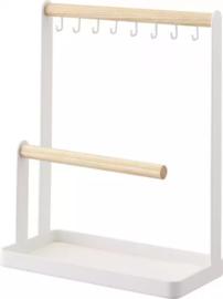 Yamazaki- Accessories Stand 2 bars - Tosca