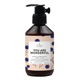 The Gift label - LOTION- You are Wonderfull