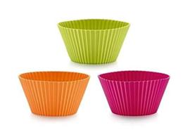 Lekué Muffin cup 12pcs ass d7cm