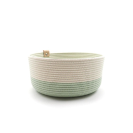 Koba bowl high- mint L 25x12