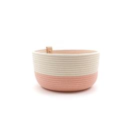 Koba bowl high- pastel rose M 20X12