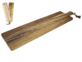 Gusta acacia serveerplank 79x19cm