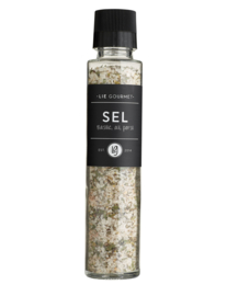 Lie gourmet salt basil, garlic, parsley