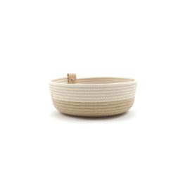 Koba bowl low- mokka L 30X7