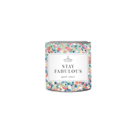 The Gift label - SMALL CANDLE - Stay fabulous