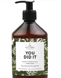 The Gift label - HAND SOAP- You did it - 500ml
