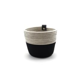 Koba planter- S- black&white 13x12