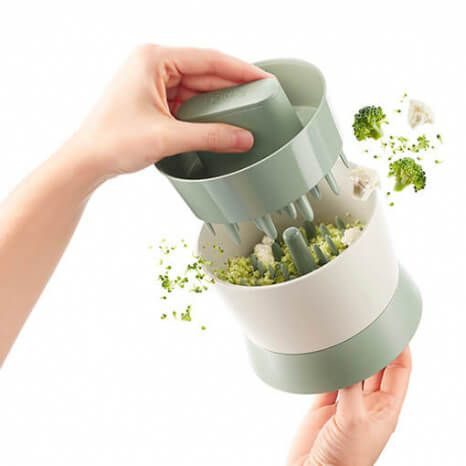 Lékué Veggie Ricer broccoli- en bloemkoolsnijder