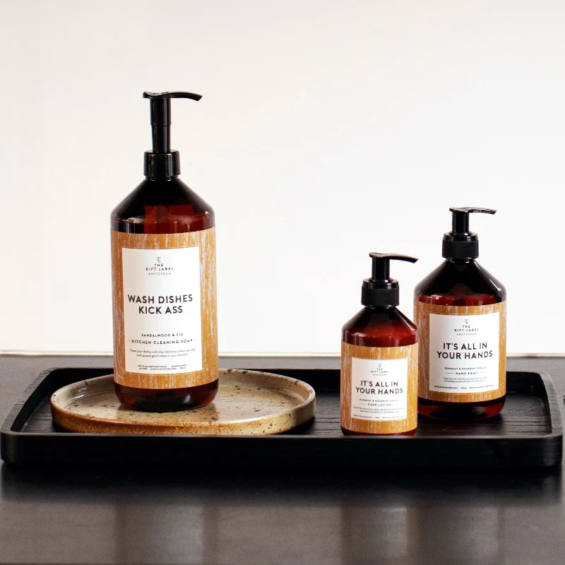 The gift label - DISH SOAP - Wash dishes kick ass 1000ml