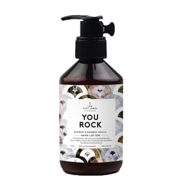 The Gift label - LOTION- You rock