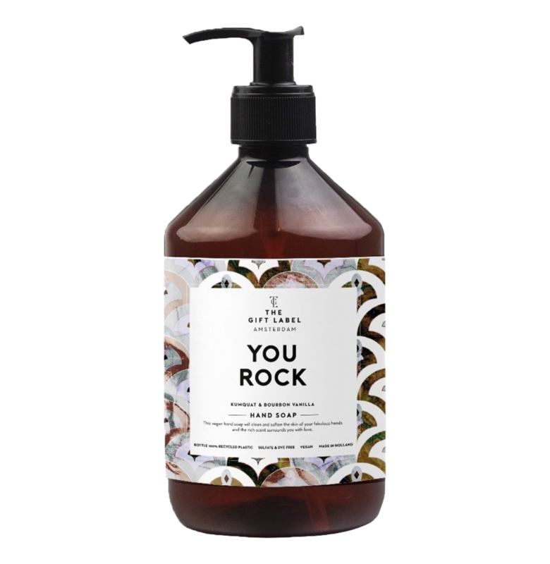 The Gift label - HAND SOAP- You rock 500ml
