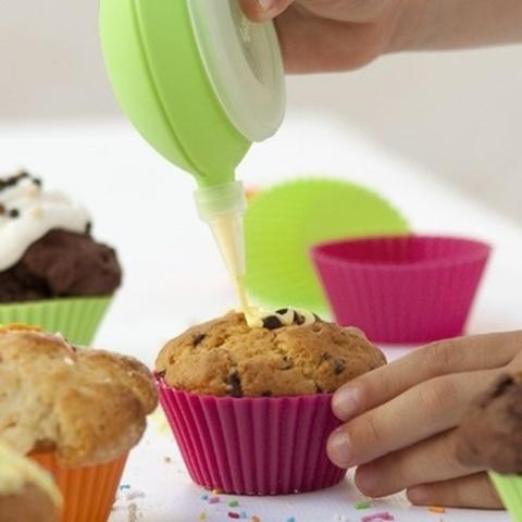 Lekué Muffin cup 6pcs ass d10cm