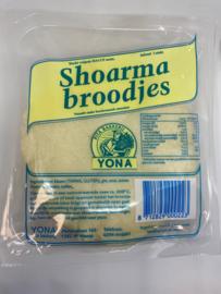 Shoarma broodjes 5 stuks