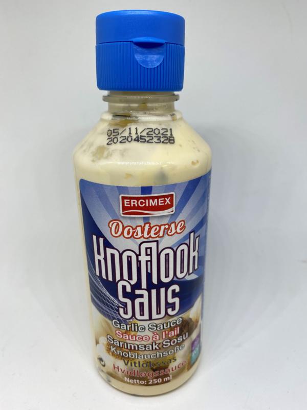 Knoflooksaus 250 ml