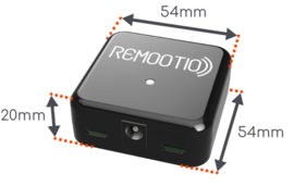 Remootio 2 relais + sensor