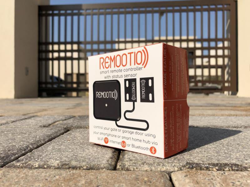 Remootio 1 Relais + sensor