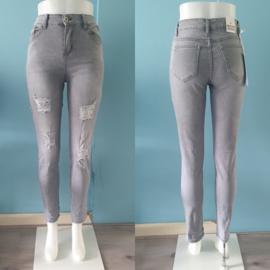 Evi jeans | Grijs