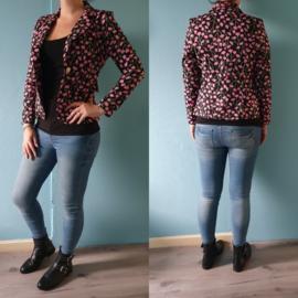 Flower blazer | Pink