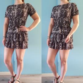 Rifka jurk   Zwart