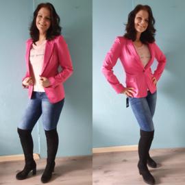 Felicity blazer | donker roze